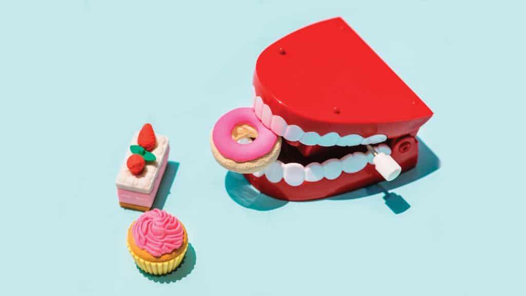 Dientes de juguete